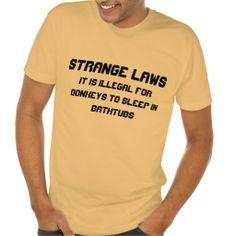Strange laws tees