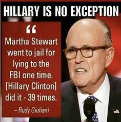 But the Clintons are above the law