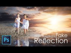 Outdoor Portrait Edit (FAKE REFLECTION) In Photoshop 2017 (Tutorial) ❤ - YouTube