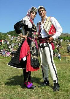 Miss Bjeshka Contestant & Friend, Lëpushë, Malësia e Madhe, Albania