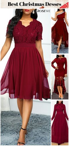 Gown Party Wear, Party Dress Outfits, Sequin Party Dress, Burgundy Maxi Dress, Plaid Dress, Cute Prom Dresses, Dressy Dresses, Summer Outfits Women Over 40, Dress Design Sketches