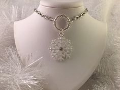 A personal favorite from my Etsy shop https://www.etsy.com/listing/249024852/snowflake-pedant-necklace-on-chain