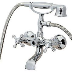 Kitchen Sink Faucet Wall Mount Adjustable Centers
