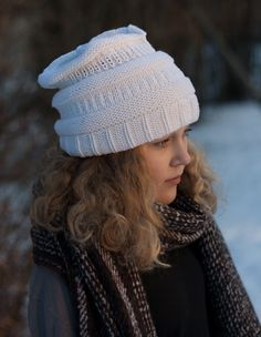 Makkarapipo, lanka Debbie Bliss Rialto dk - Hand knit beanie, yarn Debbie Bliss Rialto dk. Koukuttamo