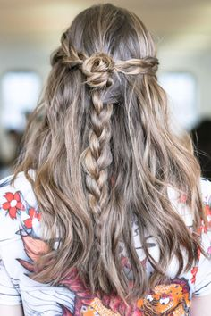 Really digging this wave/ braid combo.