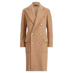 Shop the women's Polo Camel-Hair Coat at the world of Ralph Lauren. Browse our designer women jackets, wool coats & vests today. Polo Coat, Ralph Lauren Womens Clothing, Pea Coats Women, Shearling Coat, Camel Coat, How To Slim Down, Fall Outfits, Menswear, Clothes For Women