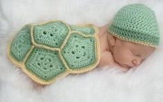 Baby turtle crochet outfit...newborn set...photography...baby boy...newborn boy...first photo shoot by kristie