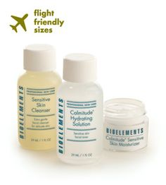 Traveling can heighten skin sensitivity, so leaving your normal skin routine at home is a no-no. Take your skin care to-go with Travel Light Kit for Sensitive Skin!  http://www.bioelements.com/travel-light-kit-for-sensitive-skin-products-1088.php?page_id=94