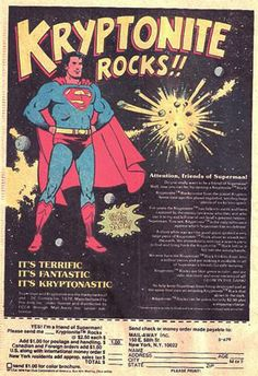 Kryptonite rock ad