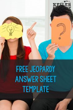 FREE Jeopardy review game answer sheet. Have every student participate by answering every question so all are engaged and prepared for the assessment! Science Vocabulary, Science Lessons, Science Ideas, 8th Grade Science, Middle School Science, Question And Answer Games, This Or That Questions, Teaching Strategies, Games