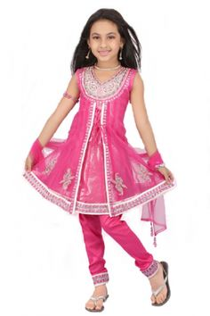 Your little one will look like a princess in this beautiful shimmery creation. This dress has a beautiful shimmer lining under the net material.Wear this sleeveless as shown or with sleeves that are provided and can be stitched on if so desired.