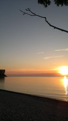 Sunset at Fridhem and Högklint Gotland