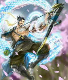 Hanzo is one of my favourite    characters on Overwatch.