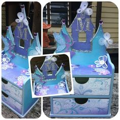 Kaisercraft Fairy Jewellery box, designed.