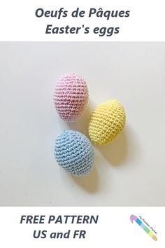 Diy Crochet Amigurumi, Amigurumi Patterns, Free Crochet, Holiday Crochet, Crochet Gifts, Easter Projects, Easter Crafts, Easy Crochet Patterns, Crochet Designs