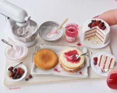 2017 Abril. Pastel de fresa♡ ♡ By Heavenly Cake