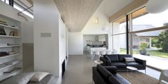 Great zone definitions - feels really cozy - Gallery of Family House / Atelier K2 - 12