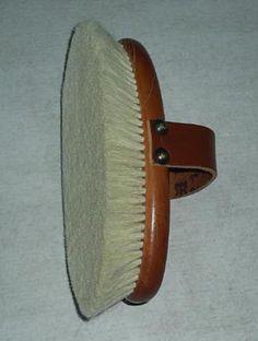 #equestrian brush, #horse grooming brushes, #goat hair dusting brush