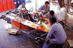 The Ferrari 312T2 was arguably their first 'hybrid' chassis; both a Grand Prix car and a hospitality unit!
