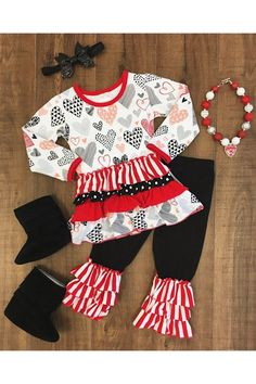 CRAZY IN LOVE TUNIC BOUTIQUE OUTFIT Threenager 637eb00f1
