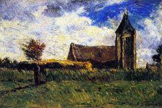 Country Church  Paul Gauguin - circa 1879