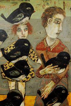 Terry Turrell    Peacefully cradling those big black birds