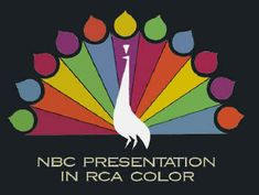 Even in 1965, only half of all TV shows were broadcast in color. To let the viewer know a show was in color, each network had their own color logo which appeared before the start of the show.