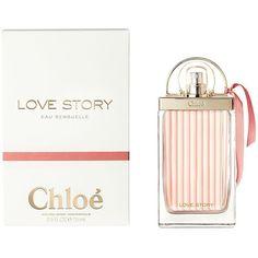 Chloé Love Story Eau Sensuelle de Parfum (2,390 MXN) ❤ liked on Polyvore featuring beauty products, fragrance, perfume fragrance, flower perfume, parfum fragrance, flower fragrance and chloe fragrance