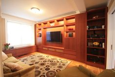 Greenhill Residence modern media room