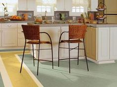 marmoleum click dining room - Google Search