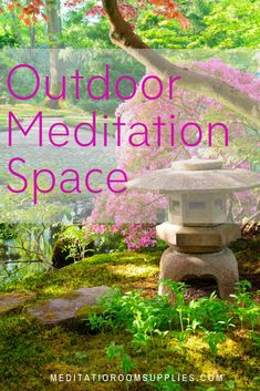 An article on creating a backyard meditation garden.