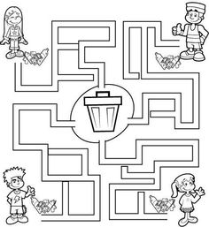 . Garbage Truck Party, Trash Party, Preschool Worksheets, Kindergarten Activities, Google Classroom, Classroom Themes, Recycling Activities For Kids, Planet Crafts, Community Helpers Preschool