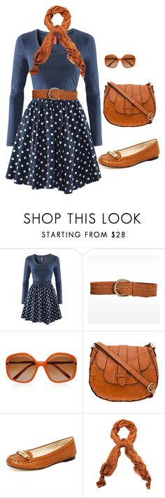"""""""nancy drew"""" by lashelle95 ❤ liked on Polyvore featuring H&M, Linea Pelle, Marni, A