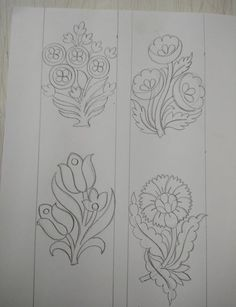 Border Embroidery Designs, Embroidery Flowers Pattern, Hand Embroidery Patterns, Floral Embroidery, Embroidery Stitches, Flower Patterns, Jewelry Design Drawing, Couture Embroidery, Satin Stitch