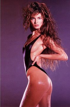 c3d07187eb I had this poster on my closet door growing up, LOL! Paulina was one of my  favorites! Paulina Porizkova, Photo by Marco Glaviano