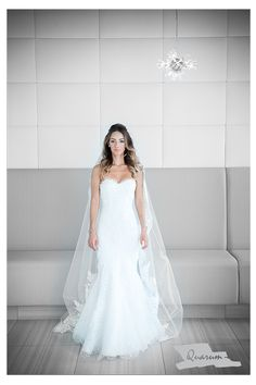 Quarum wedding photo studio located just north of Toronto  One of our stunning brides Melanie was photographed in the heart of Toronto wearing this meticulously detailed and ever elegant wedding gown.
