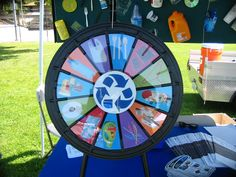 We will be at the Davis, CA Chamber of Commerce Discover Davis event at Central Park today from 4pm-8pm! Come stop by our booth to learn more about Davis sustainability programs. Spin our prize wheel and win fabulous stuff! Buy this Prize Wheel at http://PrizeWheel.com/products/tabletop-prize-wheels/mini-clicker-prize-wheel/.