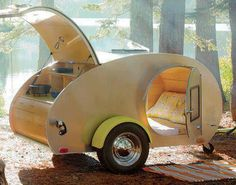 Camping Vintage Style... perfect for one... or two plus Marley ♥