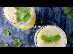 PINEAPPLE MOCKTAIL (RAMADAN RECIPES)by coconut chutney - YouTube Coconut Chutney, Indian Food Recipes, Ethnic Recipes, Ramadan Recipes, South Indian Food, Interesting Recipes, Food Categories, Juices, Pineapple
