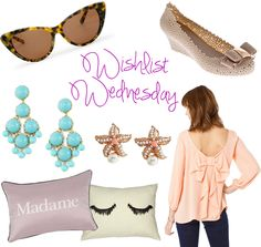 Style: Wishlist Wednesday ~ Girly Glam by Haute on the Spot Blog: Your Little Black Book of Bargains