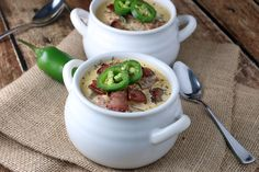 Jalapeno Bacon Cheddar Soup Shared on https://www.facebook.com/LowCarbZen | #LowCarb #Soup #Spicy