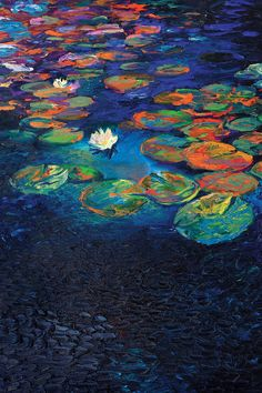Nymphaea Lotus by Iris Scott is printed with premium inks for brilliant color and then hand-stretched over museum quality stretcher bars. 60-Day Money Back Guarantee AND Free Return Shipping.