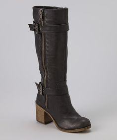 Love this Black Boot by Rock & Candy on #zulily! #zulilyfinds