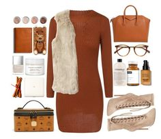 """""""sweater"""" by themarshmallowmadness ❤ liked on Polyvore featuring Givenchy, Steve Madden, EyeBuyDirect.com, philosophy, SkinCare, Bobbi Brown Cosmetics, MCM and Terre Mère"""