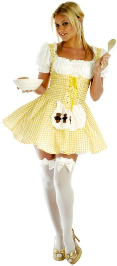 goldilocks costumebut it doesnt need to be so sexy - Goldilocks Halloween Costumes