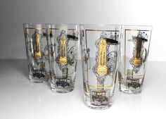 Tom Collins, Iced Tea Glasses, Tumbler, Drinking, Mother Gifts, Titanic Boat, Great Gifts, Gold Bullion