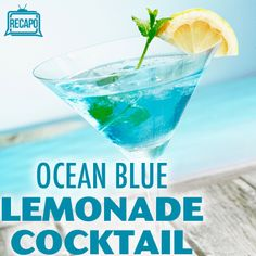 Clinton Kelly showed us his tiki party cocktails with his Quick and Easy Mai Tai Recipe, Ocean Blue Recipe, and low calorie Pina Clintada on The Chew.