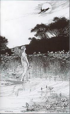 Flores y Palabras: Ilustraciones de Ida Rentoul Outhwaite (I)