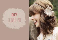 DIY: Flower Pin