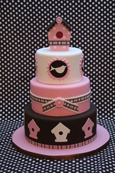 Birdhouse...can rep by other designs  by Bien fr Cake Central